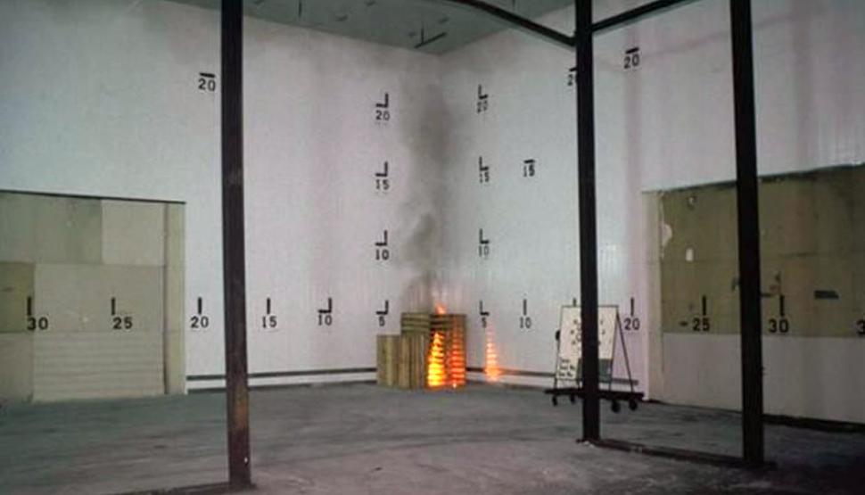 Cost Effective Cavity Wall Fire Predictive Tests