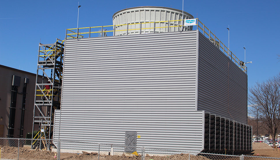 FM Approved Series ES and ESP field-erected cooling towers from EvapTech, Inc.