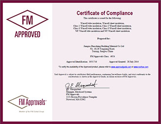 Authentic Certificate of Compliance