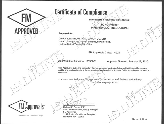 Counterfeit Certificate of Compliance