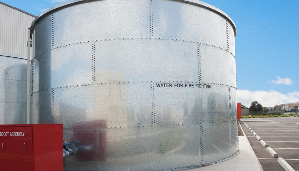 Fm Approvals Steel Tanks For Fire Protection